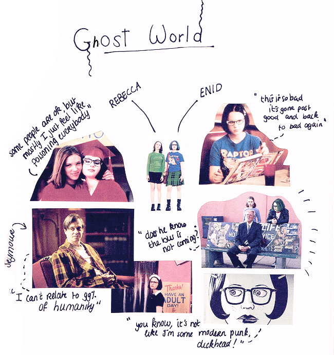 '90 revival, yes please! (Ghost World)