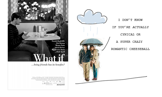 3 filmtips: What If, The Diary of A Teenage Girl, Fish Tank
